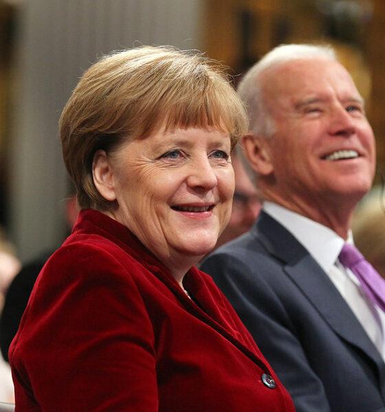 Merkel e Biden