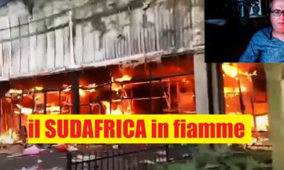 Il Sudafrica devastato dalle rivolte e dai saccheggi